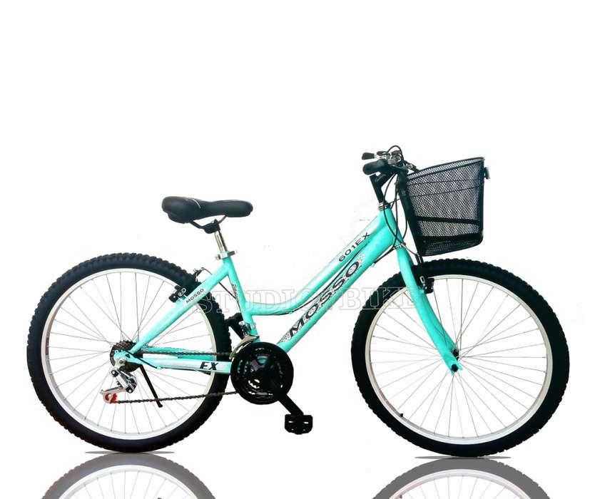 Bicicleta Montañera de Mujer Aro 26