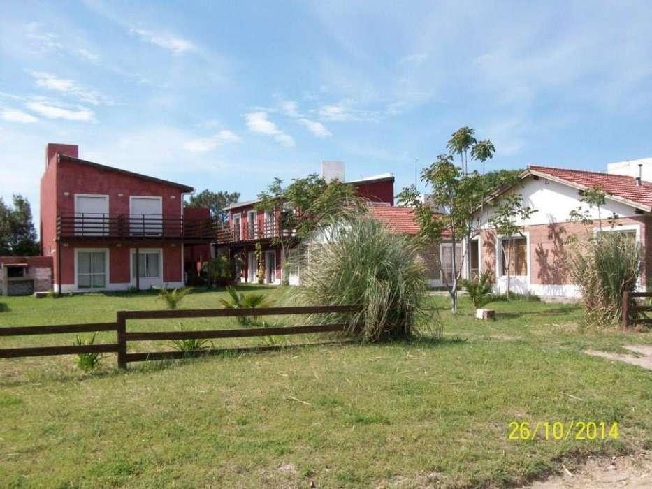 ch57 - Cabaña para 2 a 7 personas con cochera en Claromeco