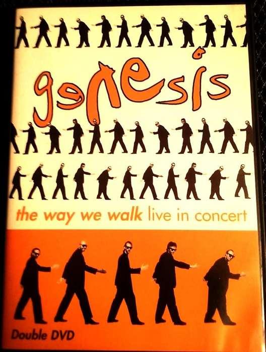 DVD Doble de Genesis Británico Phil Collins en concierto The Way We Walk Earls Court Exhibition Centre de Londres