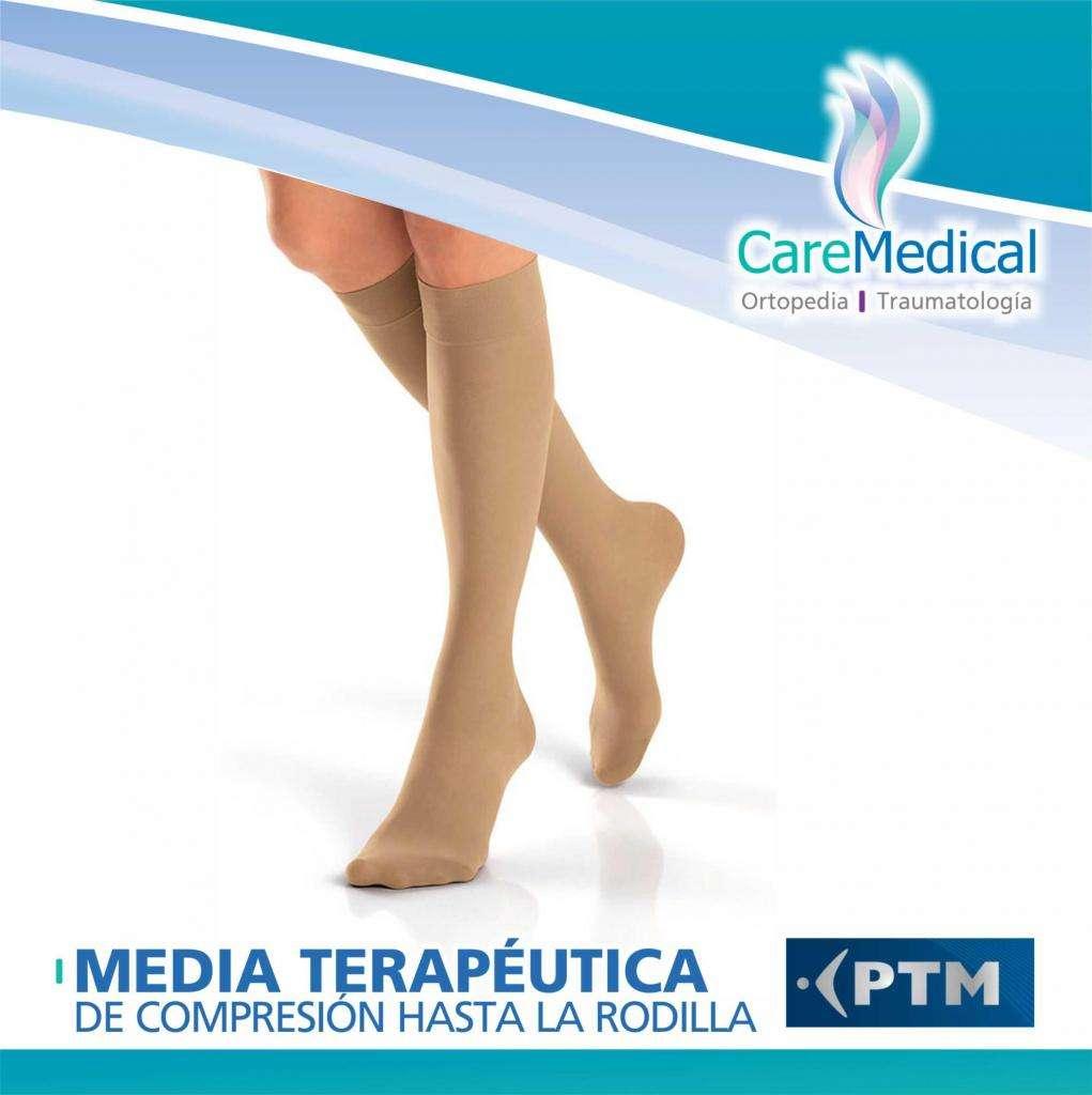 Medias Terapeuticas de Compresion 15-20 mm/hg Ortopedia Care Medical