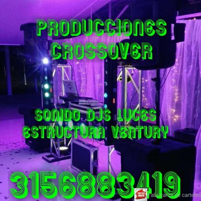 Alquiler Sonido Luces Dj Ventury Minitec