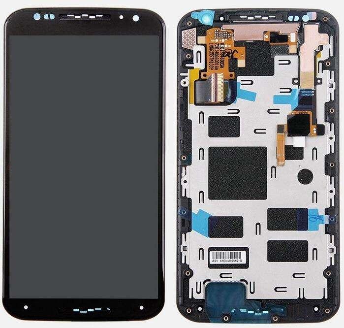 Display Motorola Moto X Play con Marco