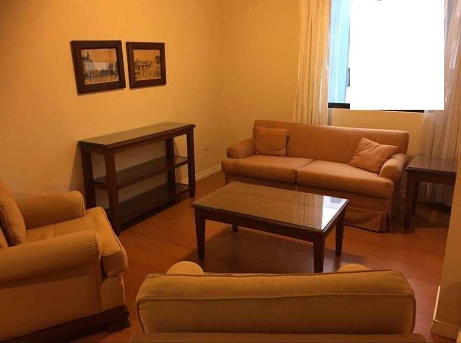 Alquiler de Departamento, amoblado, tres habitaciones, República del Salvador