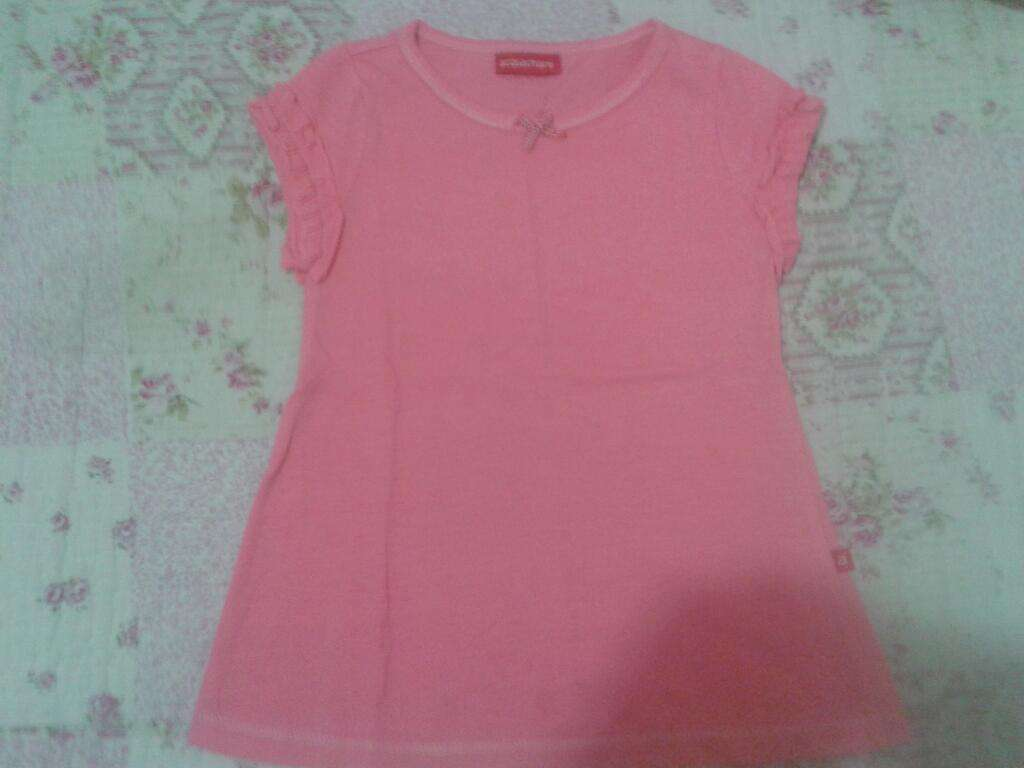 Remera Rosa Acquachiare 3 a 4 Años T2