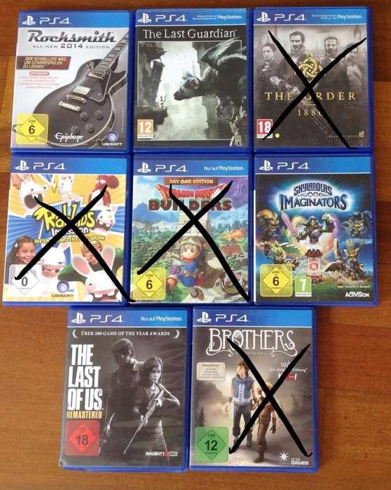 Juegos usados <strong>playstation</strong> 4