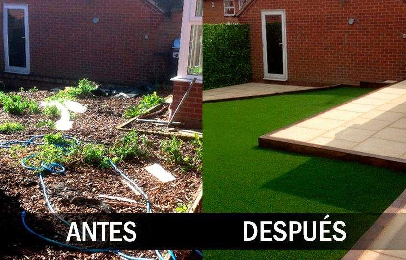 Instalación Césped Artificial sintético para jardines envíos a todo Ecuador