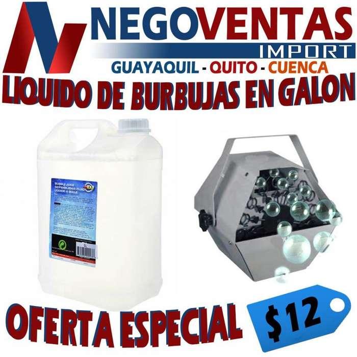 LIQUIDO DE BURBUJAS EN GALON DE OFERTA