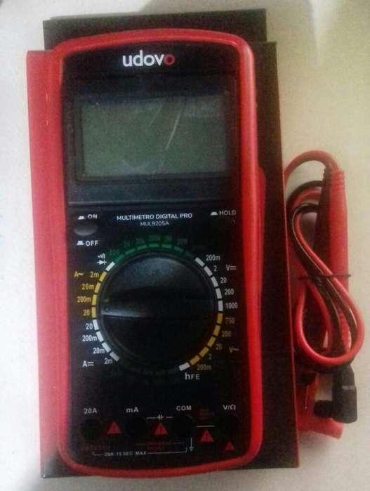 Multimetro Tester con Capacimetro