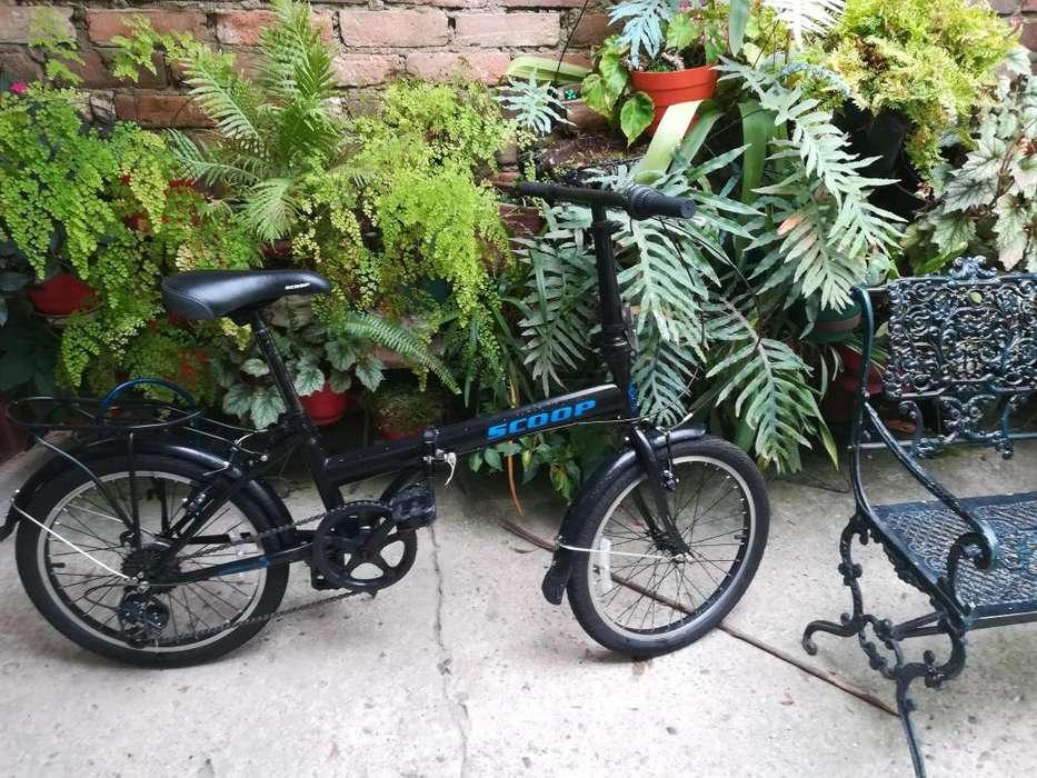 Bicicleta desarmable (Plegable) con cambios