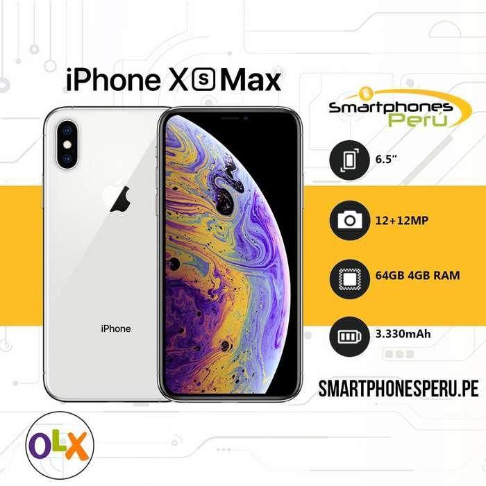 Iphone XS MAX 256GB Disponibilidad inmediata Smartphonesperu.pe