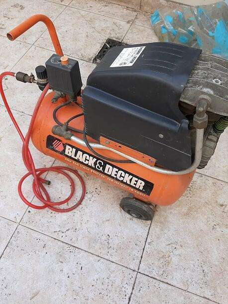 compresor usado black and decker