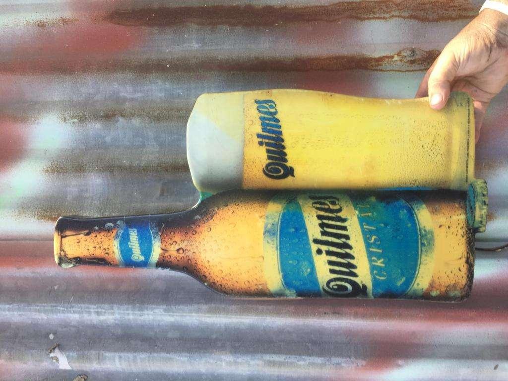 Cartel Luminoso Quilmes Cervecería Retro Vintage
