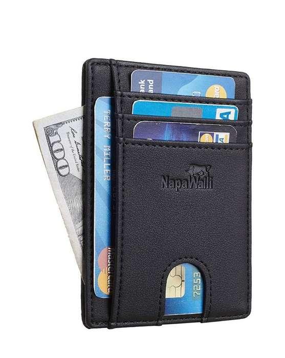 Billetera Bloqueo Rfid Protección Tarjet