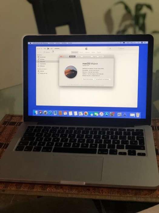 Macbook Pro Retina 13 Año 2015 500 Gb Sd