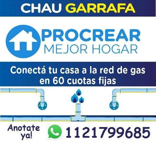 INSTALACIÓN DE GAS NATURAL CON PROCREAR