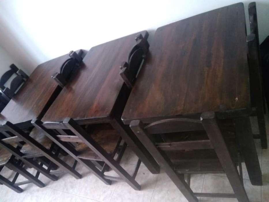 Vendo Mesas Y <strong>silla</strong>s para Restaurante X4