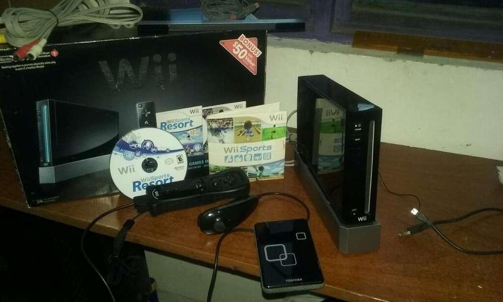 Wii 1control Disco Duro