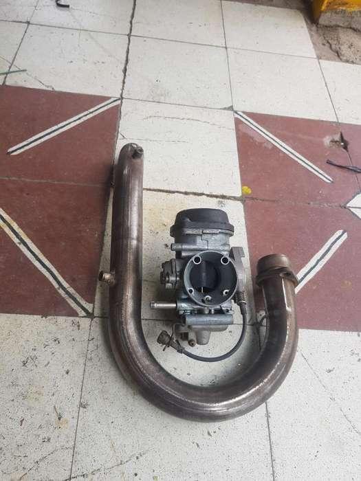 Vendo Carburador Y Curva Mofle de Tt 250