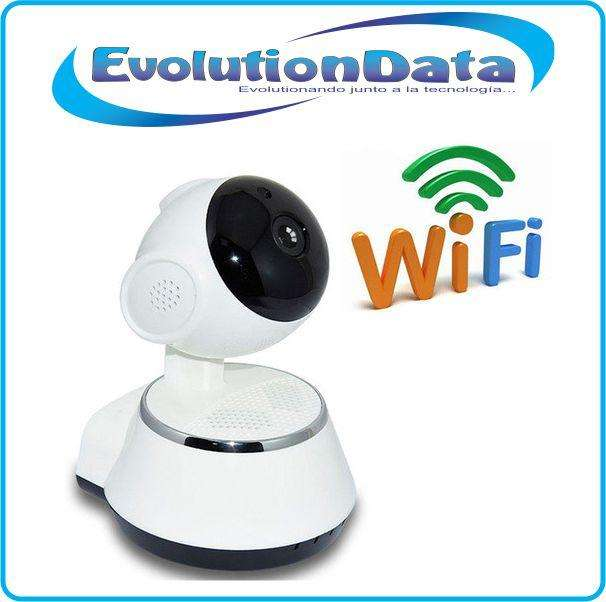 Camara IP Robotica HD 720P Space Seguridad Inalambrica Android Iphone