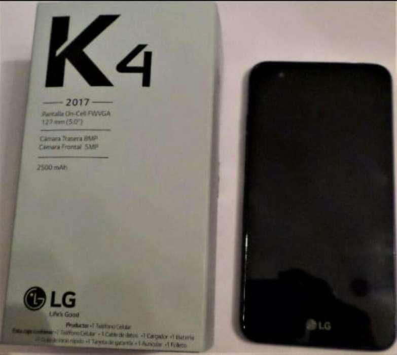 Lg K4 Libre Nuevo con Accesorios Liquido