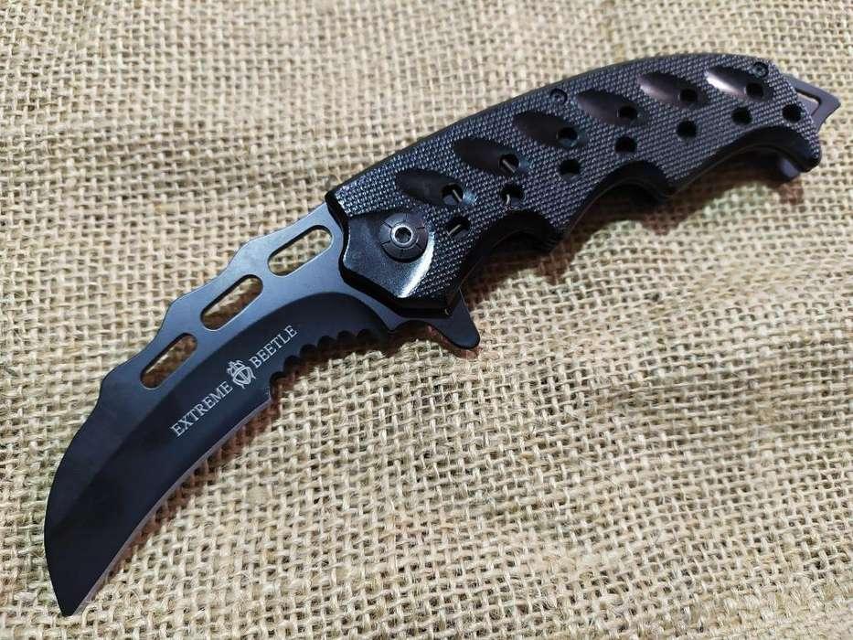 Cuchillo Navaja Kerambit Ump Dent