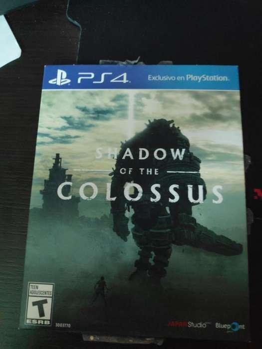 Shadow Of The Colossus Ps4 Usado
