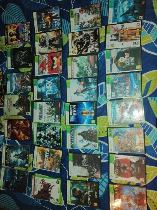 130 Juegos Xbox 360