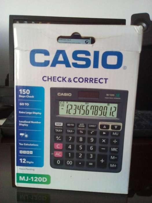 <strong>calculadora</strong> CASIO MJ-120D NUEVA