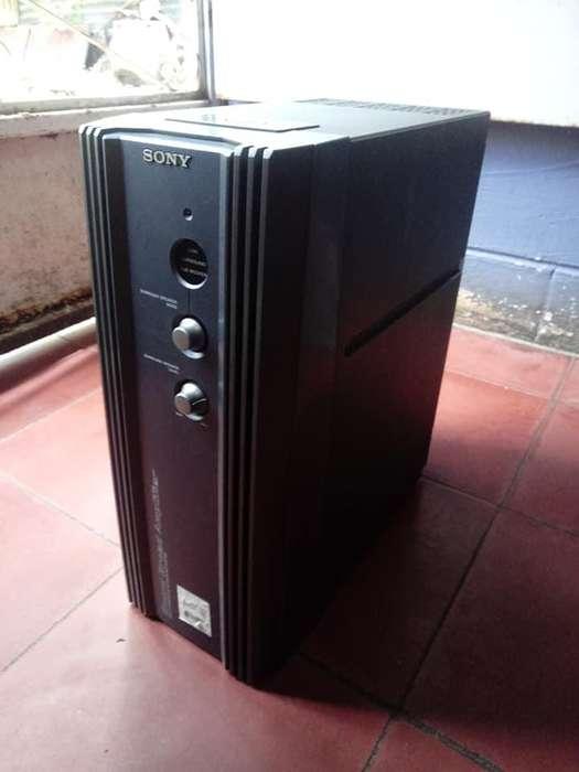 Amplificador Sony 200w Rms Potente Auxiliar STEREO