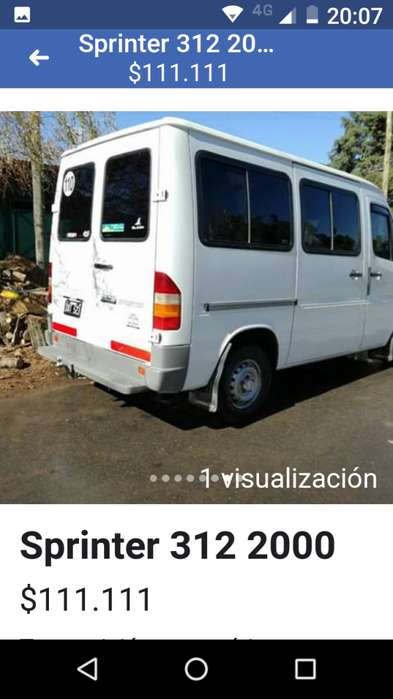 Sprinter 312 2000 turbo intercooler