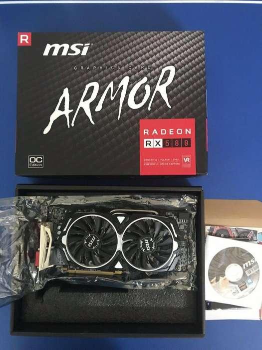 Nueva Msi Radeon Rx 580 Armor Oc 8gb