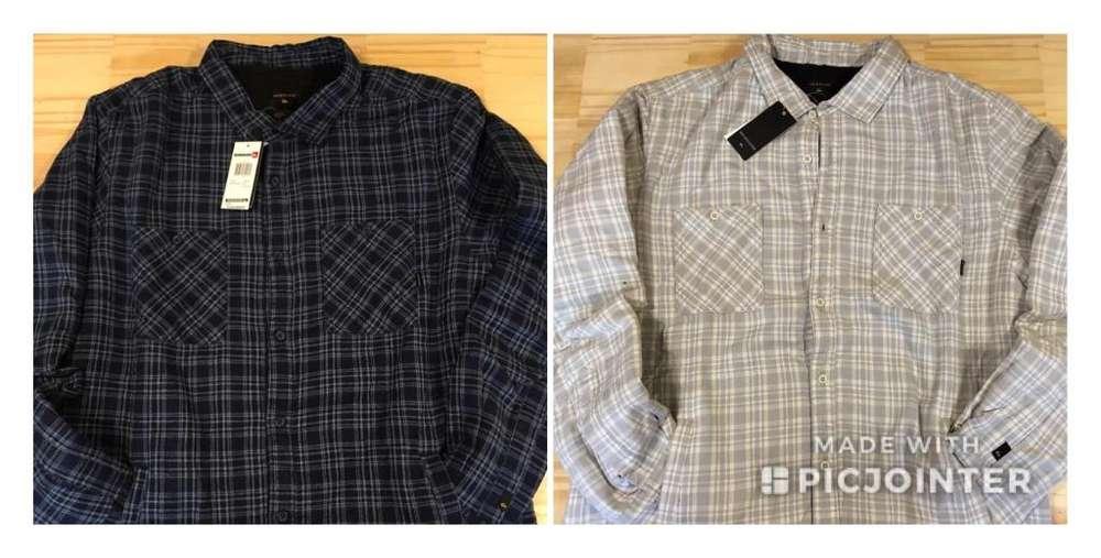 Camisas Leñadoras con abrigo - Quiksilver