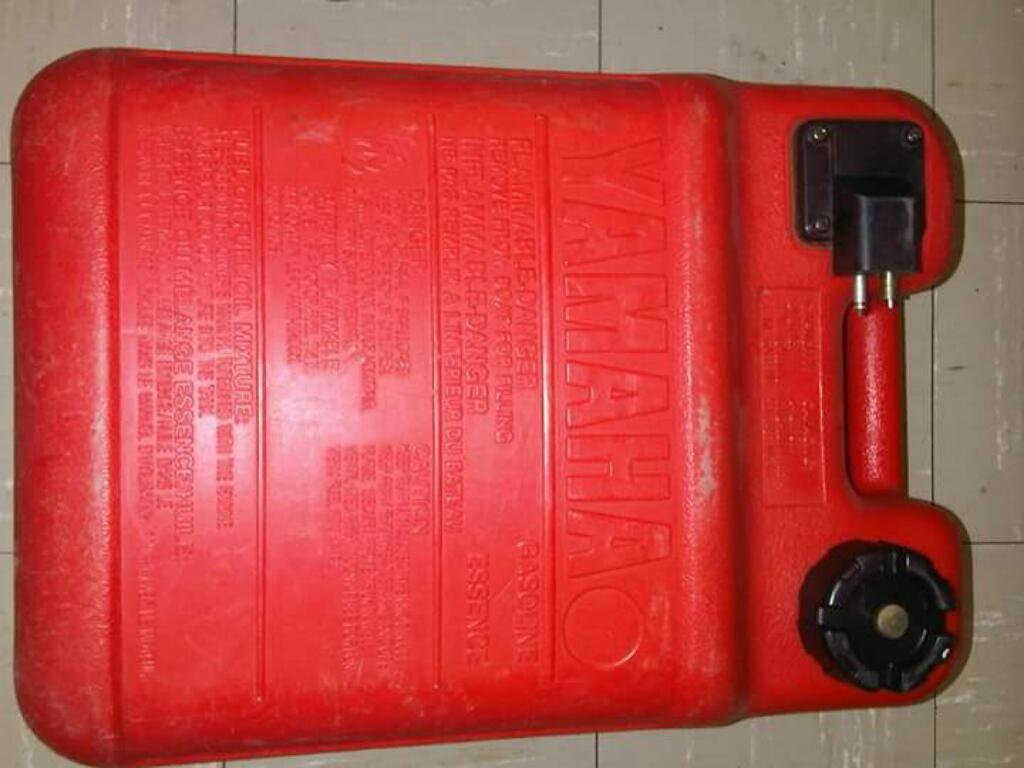 Tanque Gasolina Motor Fuera Borda con valvula