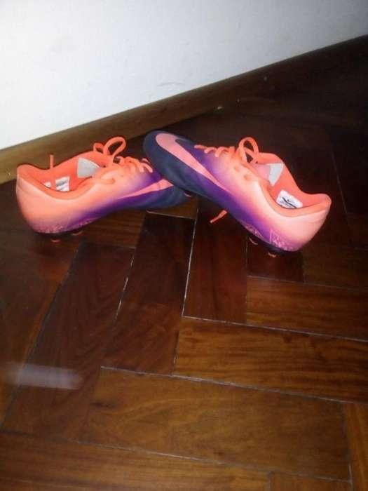 Vendo Botines Nike, Mercurial