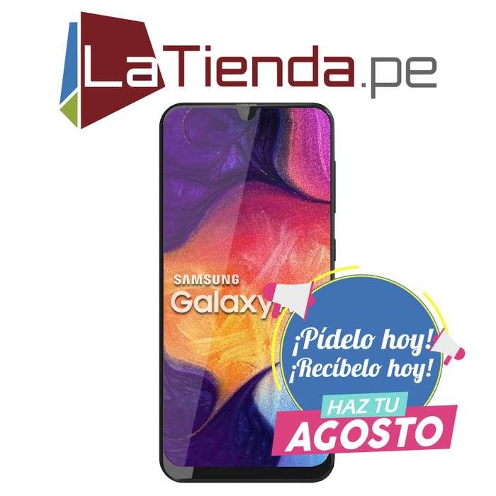 Samsung Galaxy A50 - pantalla Infinity-U Super AMOLED