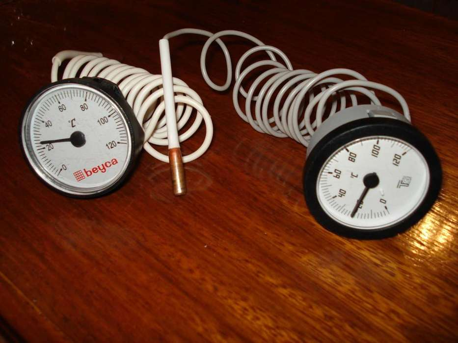 Relojes temperatura Ambiente hornos