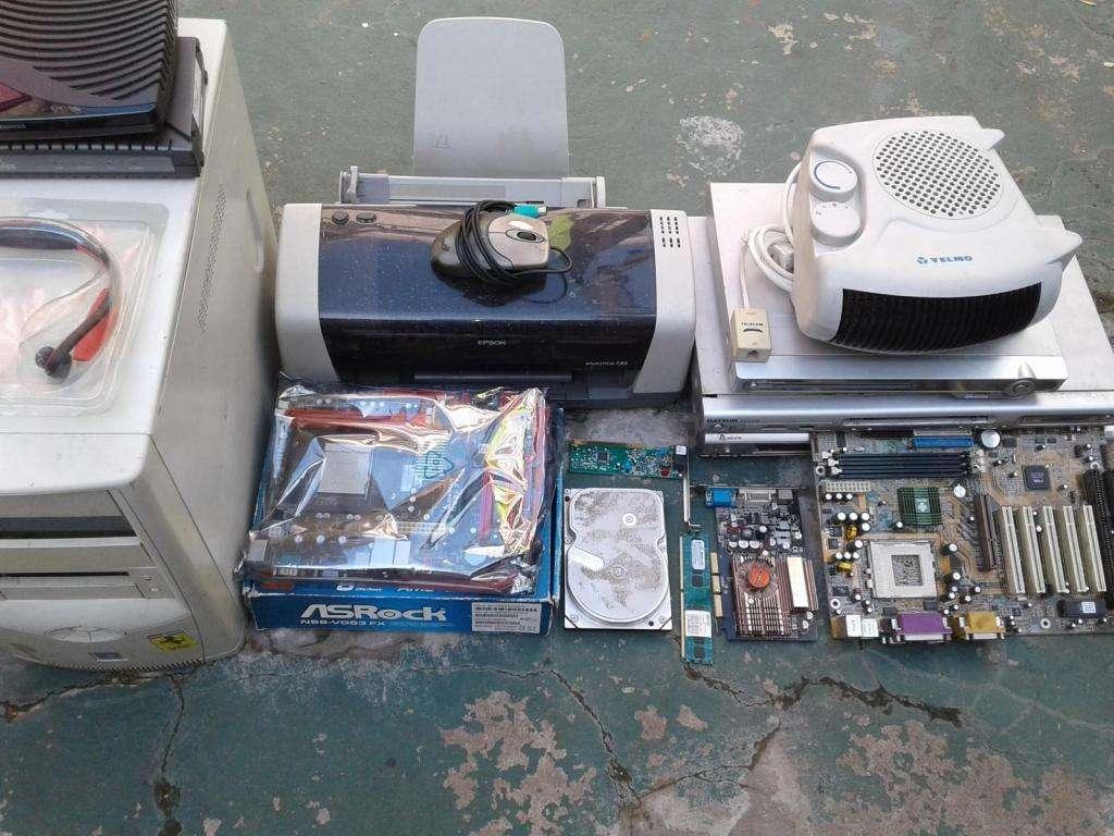 lote de computacion y electronica para revisar reparar o repuestos
