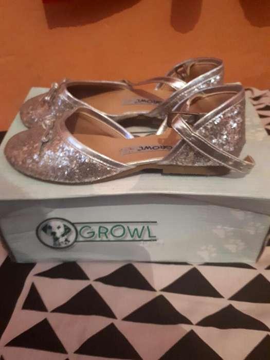 38220a62d  strong zapato  strong  Color Plata de Nena Num 29