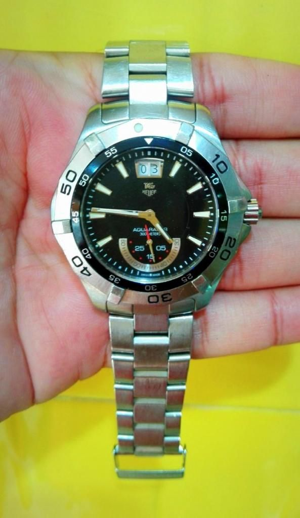 Reloj Tag Heuer Acuaracer 300, Original Swiss Made, Muy Poco Uso, Estado Impecable 10 de 10