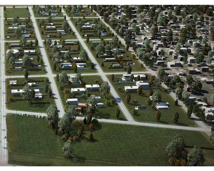Barrio abierto Campos del Oeste Alvear. Al lado de Tierra de Sueños Alvear. Financiación de la empresa. En desarrollo.