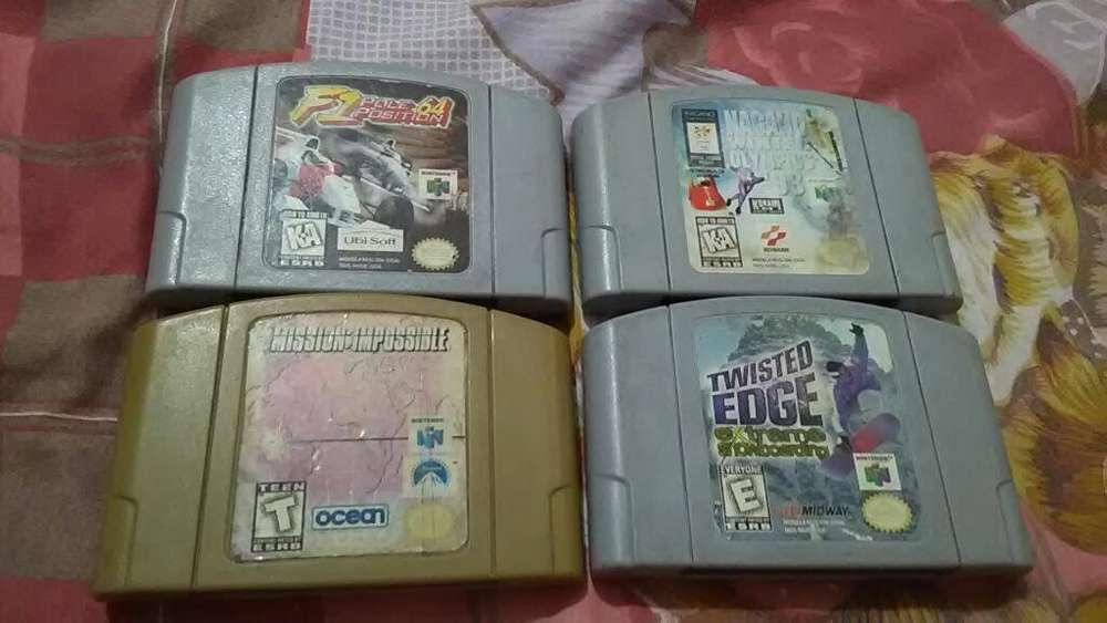 Vendo Juegos Originales de Nintendo 64