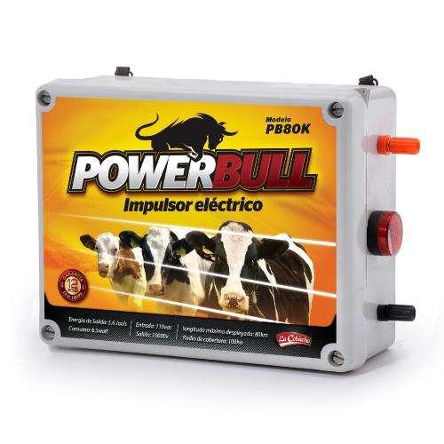 Cerca Electrica Impulsor eléctrico power bull Ganaderia