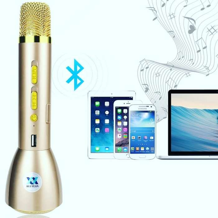 Micrófono <strong>karaoke</strong> Cargador Y Parlante
