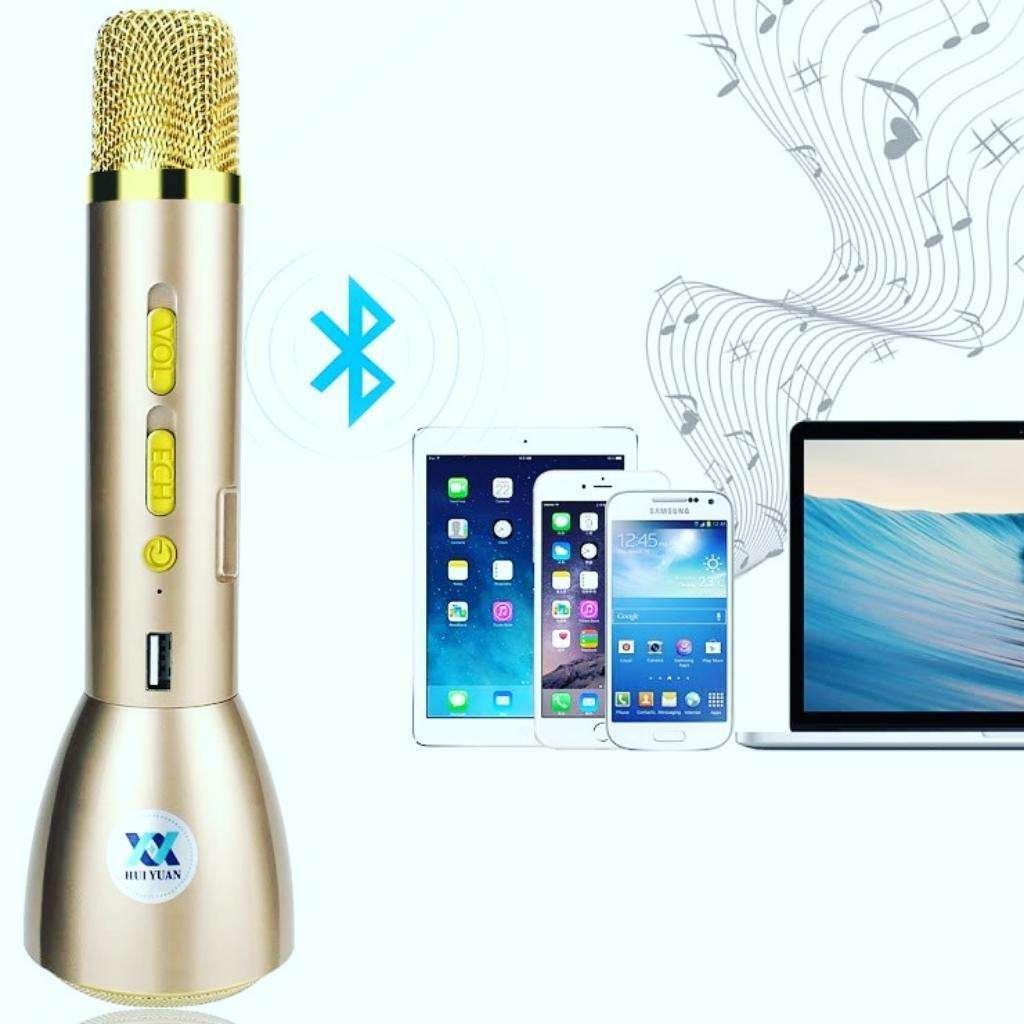 Micrófono Karaoke Cargador Y Parlante