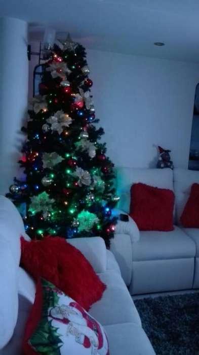 Arbol de Navidad Completo 2,10 Mts