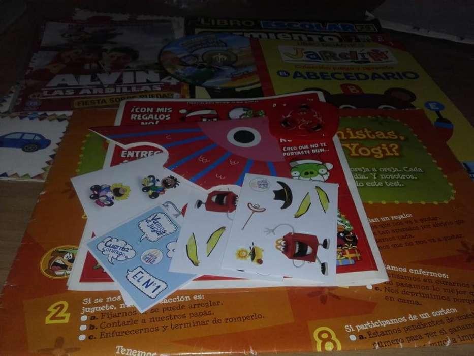 Libros Y Revistas para Chicos. 50 Pesos