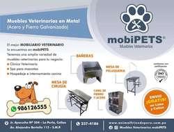 Mesa de Peluqueria Canina Profesional