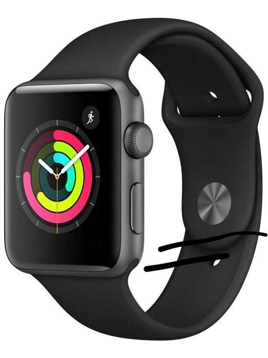Apple Watch 42Mm Series 3 Space Gray