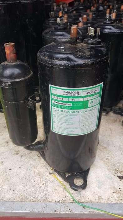 Compresor de Aire Rotativo R410 R22