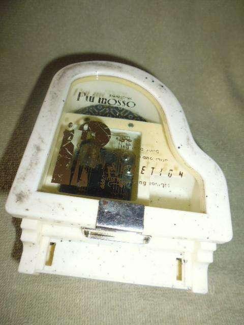 caja musical antigua en forma de piano funciona 3122802858